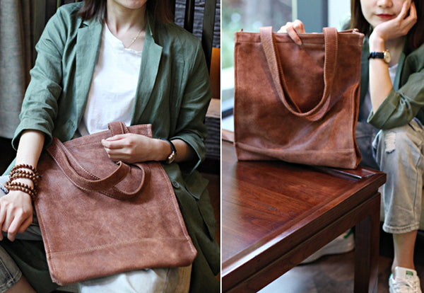 Genuine Soft Leather Tote Shoulder Bags Handbags Purses Women fine bag