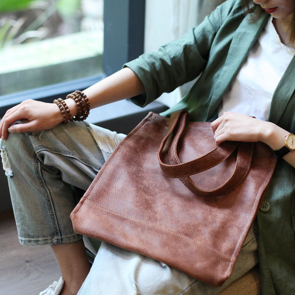 Genuine Soft Leather Tote Shoulder Bags Handbags Purses Women wear