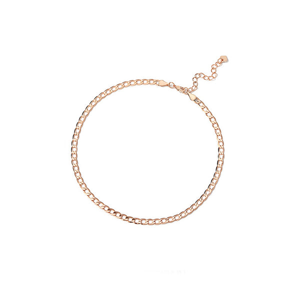 Gold Choker Y Necklace Fashion Jewelry Accessories Women sexy
