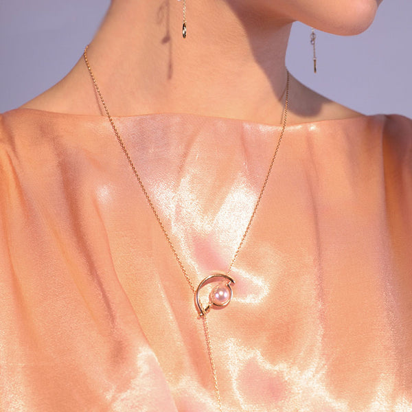 Gold Y Necklace Long Chain Pendant necklace Jewelry Accessories Gift Women chic