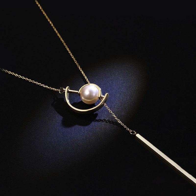 Gold Y Necklace Long Chain Pendant necklace Jewelry Accessories Gift Women charming