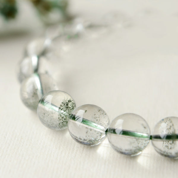 Green Garden Crystal Bead Bracelet Handmade Jewelry Accessories Women adorable