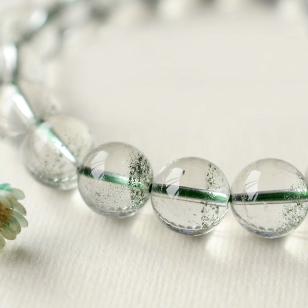 Green Garden Crystal Bead Bracelet Handmade Jewelry Accessories Women beautiful