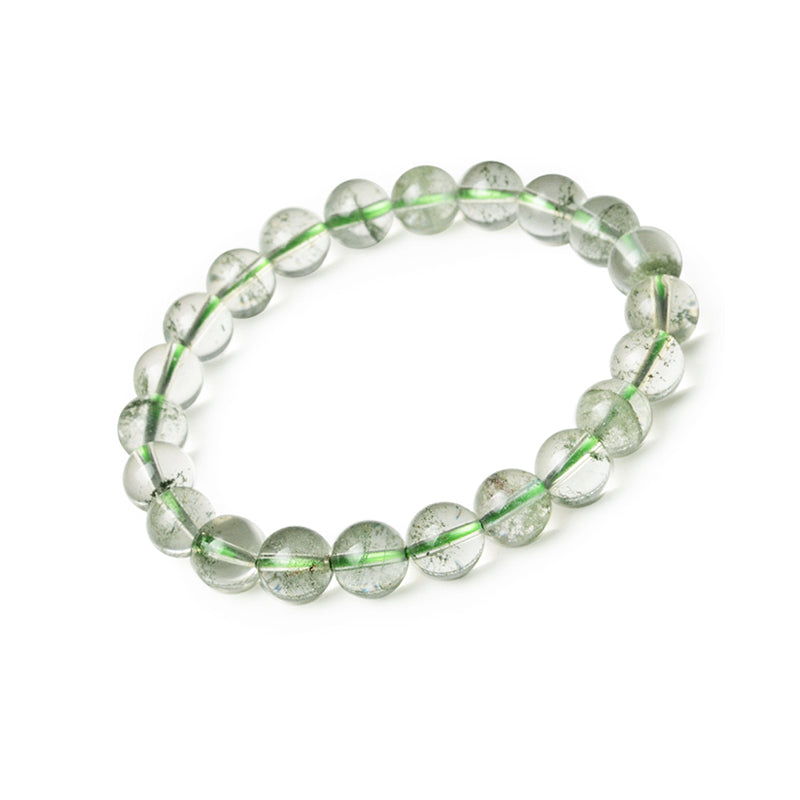 Green Garden Crystal Bead Bracelet Handmade Jewelry Accessories Women chic