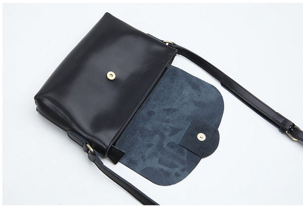 Handmade Flap Bag Women's Leather Crossbody Bags Purses For Women Accessories