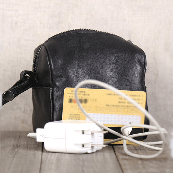 Handmade Genuine Leather Digital Package Coin Purse Wallets Clutches Purse Women Men Unique