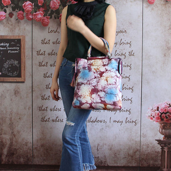 Handmade Genuine Leather Totes Handbags Crossbody Shoulder Bags Purses Accessories Gift Women gift