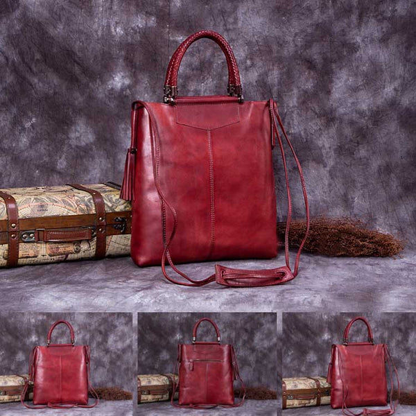 Handmade Genuine Leather Totes Handbags Crossbody Shoulder Bags Purses Accessories Gift Women handmade