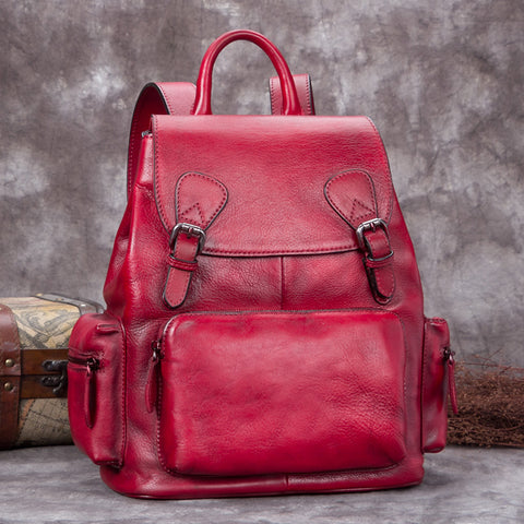 37bb9a744 Small Womens Black Leather Backpack Bag Fashion Backpacks Purses for ...
