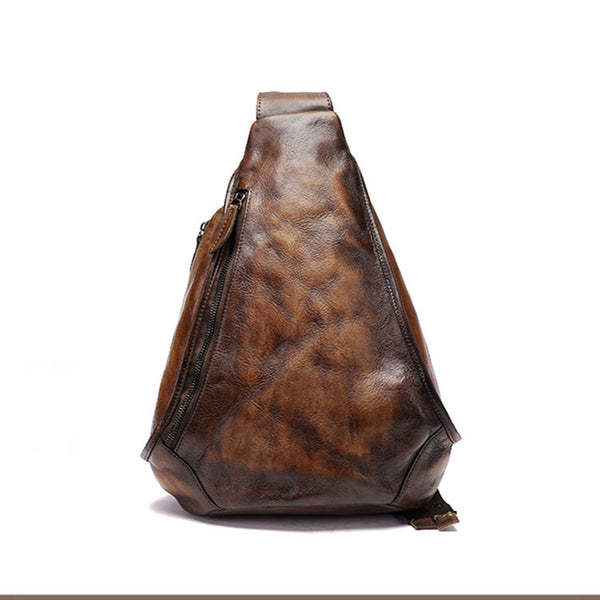 Handmade Ladies Genuine Leather Backpack Purse Small Rucksack Bag For Women Cowhide