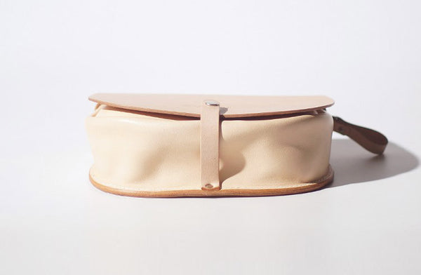 Handmade Women's Leather Crossbody Saddle Bag Small Purse for Women fashion