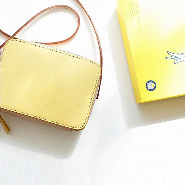 Handmade Womens Leather Crossbody Bags Cute Shoulder bag for Women Details