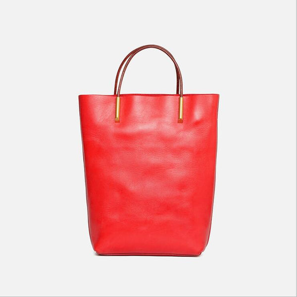 Handmade Womens Leather Work Tote Bag Handbags For Women Handmade