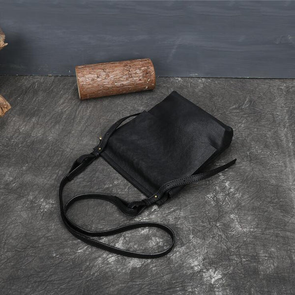 Ladies Leather Over The Shoulder Bag Crossbody Sling Bag For Women