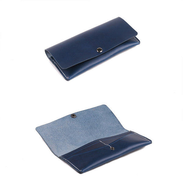 Ladies Slim Leather Billfolds Purse Long Wallets for Women gift