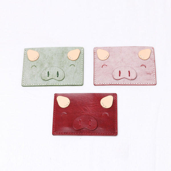 Ladies Small Leather Card Holder Wallet Cute Wallets for Women Chic