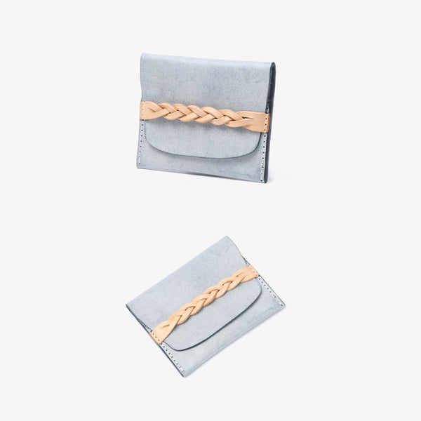 Ladies Small Leather Credit Card Holder Wallet Slim Wallets for Women mini