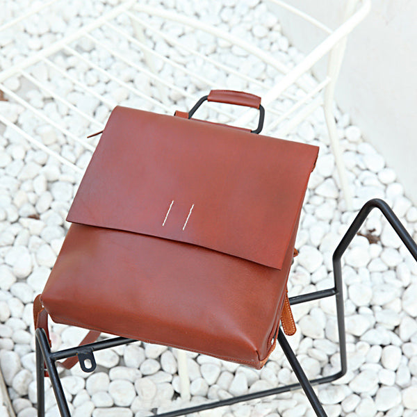 Ladies Tan Leather Elegant Backpack Bag Purse Womens Fashion Bookbag Purse for Women Boutique