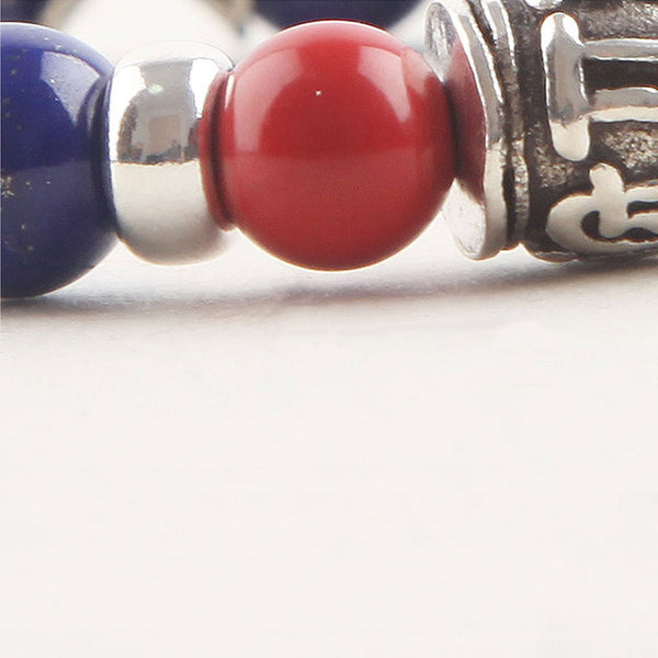 Lapis Lazuli Beads Bracelets December Birthstone Gemstone Jewelry Accessories for Women elegant