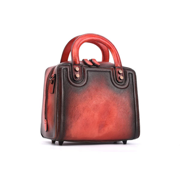 Leather Women Cube Bag Leather Handbags Crossbody Bags for Women best