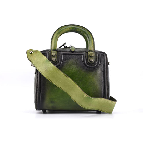 Leather Women Cube Bag Leather Handbags Crossbody Bags for Women fashion