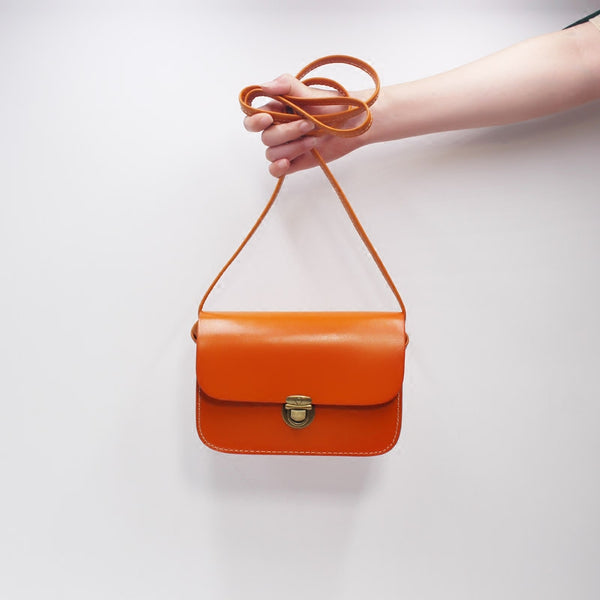 Mini Vintage Handmade Leather Crossbody Shoulder Bags Purses outfit Women