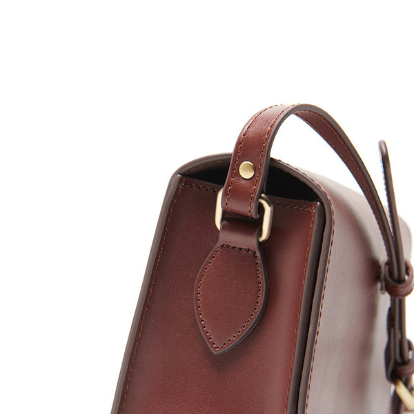 Minimalist Leather Women Satchel Bag Leather Crossbody Bags for Women work bag