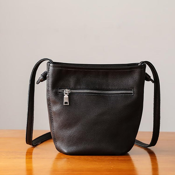 Minimalist Womens Leather Crossbody Bags Shoulder Bag for Women chic