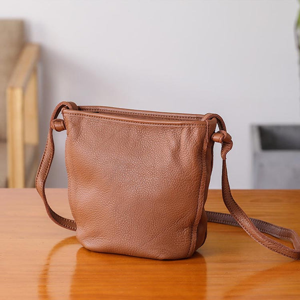 Minimalist Womens Leather Crossbody Bags Shoulder Bag for Women cool