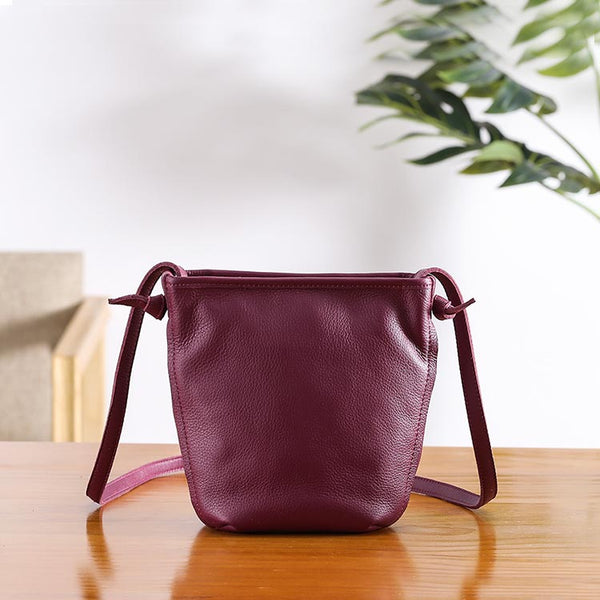 Minimalist Womens Leather Crossbody Bags Shoulder Bag for Women gift idea