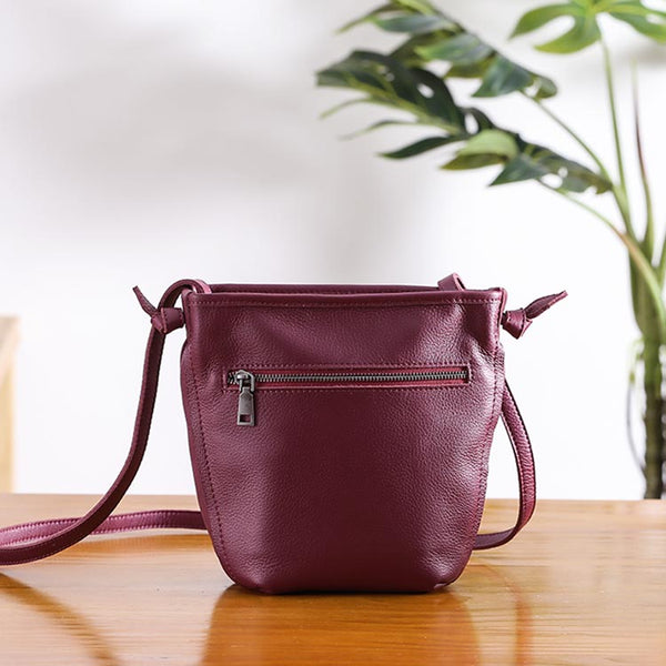 Minimalist Womens Leather Crossbody Bags Shoulder Bag for Women gift