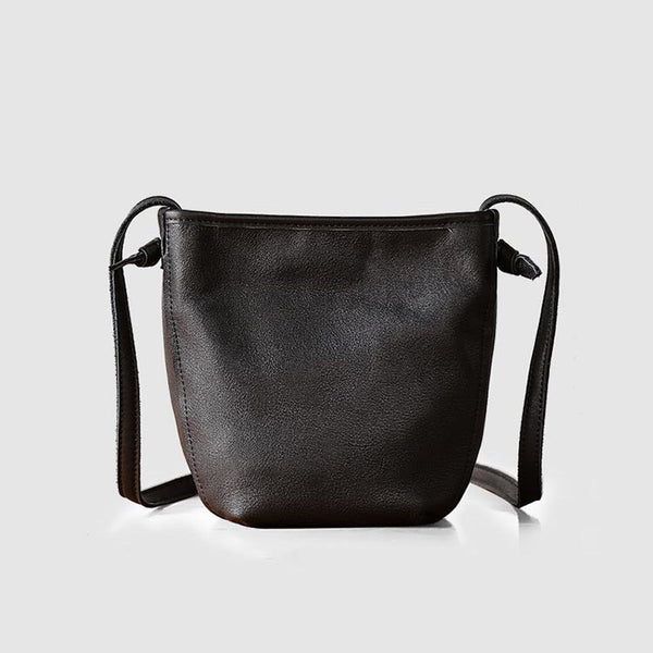 Minimalist Womens Leather Crossbody Bags Shoulder Bag for Women