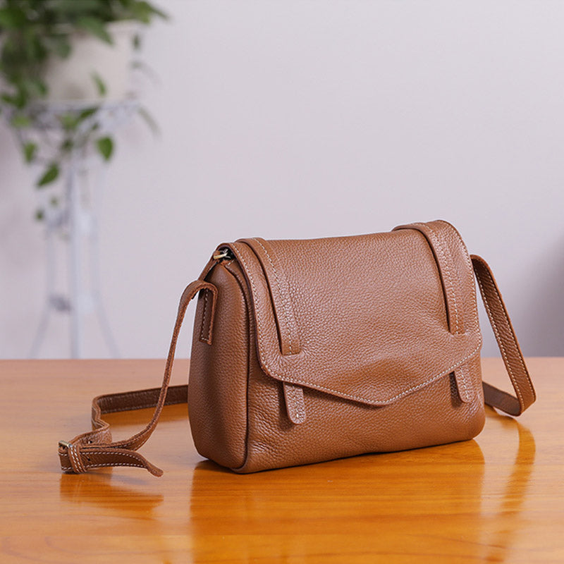 78f81c6cb0dc42 Original Womens Small Leather Satchel Bag Crossbody Bags Purse Cube Bag  small