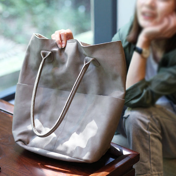 Original Womens Soft Leather Tote Bag Handbags Shoulder Bag for Women Boutique