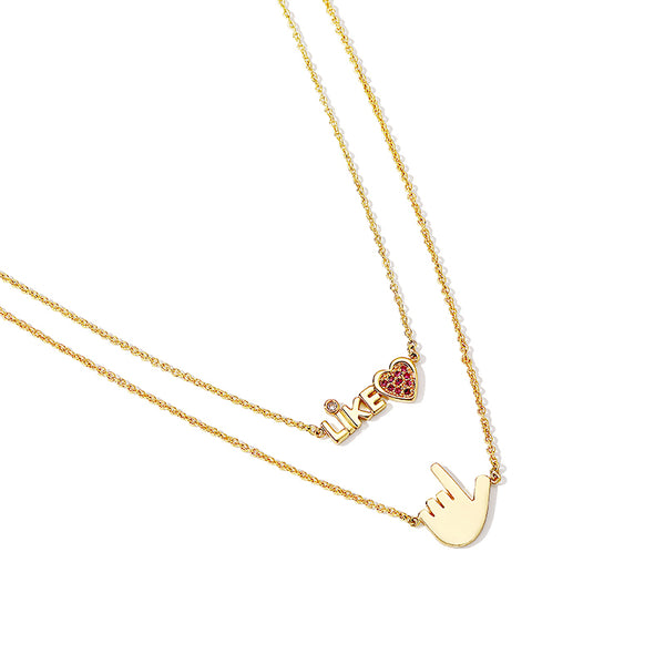 Pendant Necklace Fashion Jewelry Accessories Women girl