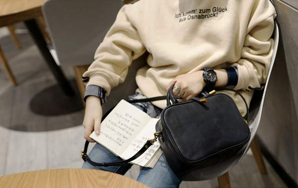 Small Leather Over the Shoulder Purse Bags Crossbody Handbags for Ladies fashion