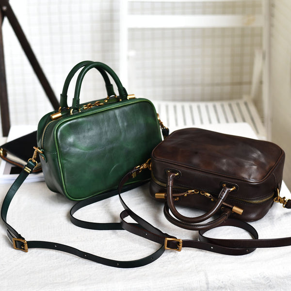 Small Leather Over the Shoulder Purse Bags Crossbody Handbags for Ladies work bag