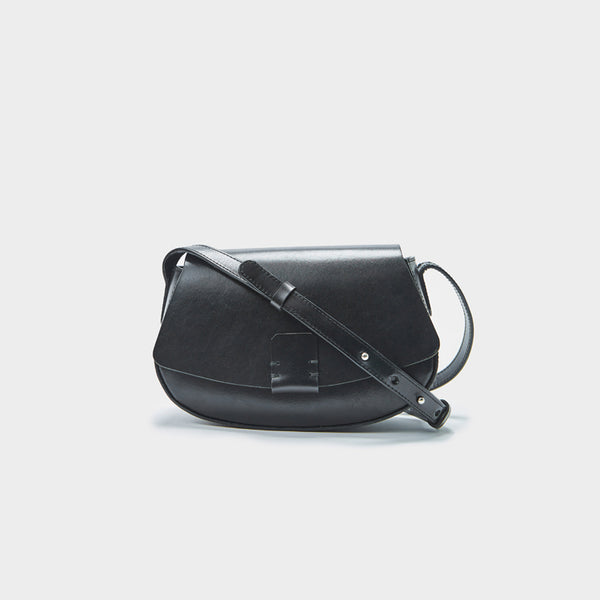 Small Leather Womens Saddle Bags Crossbody Bags Shoulder Bag for Women Details