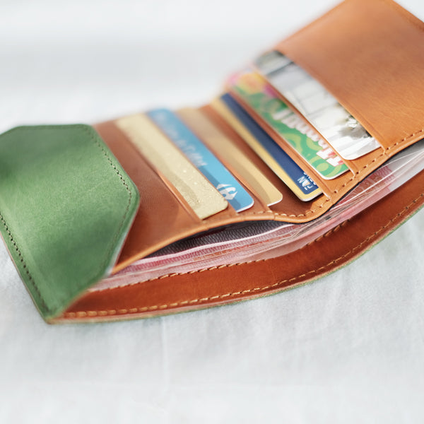 Small Women's Genuine Leather Billfold Wallet With Card Holder For Women Best