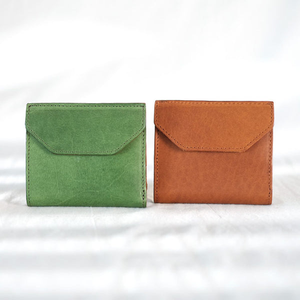 Small Women's Genuine Leather Billfold Wallet With Card Holder For Women Chic