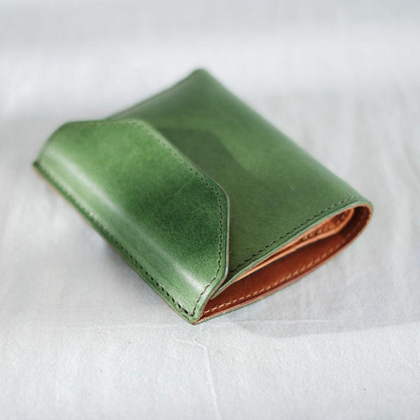 Small Women's Genuine Leather Billfold Wallet With Card Holder For Women Cool