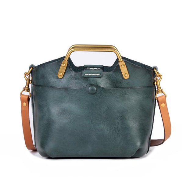 Small Women's Genuine Leather Handbags Crossbody Sling Bag For Women Beautiful