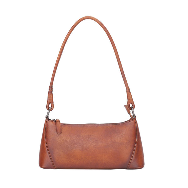 Small Women's Genuine Leather Shoulder Bags Handbags for Women Affordable