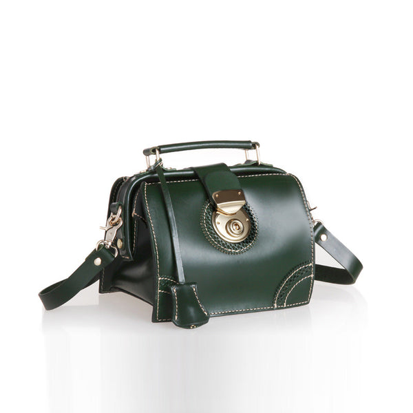 Small Women's Leather Doctor Bag