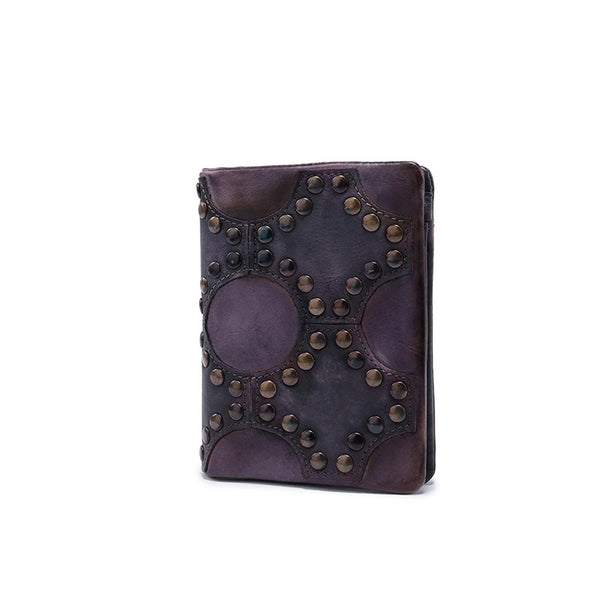 Small Women's Vintage Leather Wallet