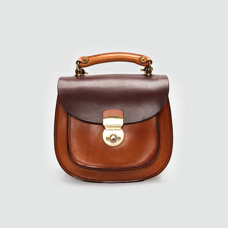 d9822b92c Small Womens Brown Leather Crossbody Handbags Bags Purse for Women ...