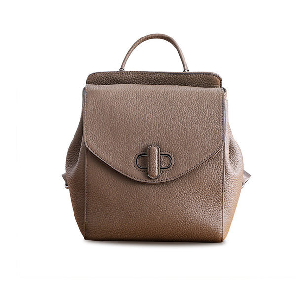 Small Womens Leather Backpack Purse Cute Backpacks for Women