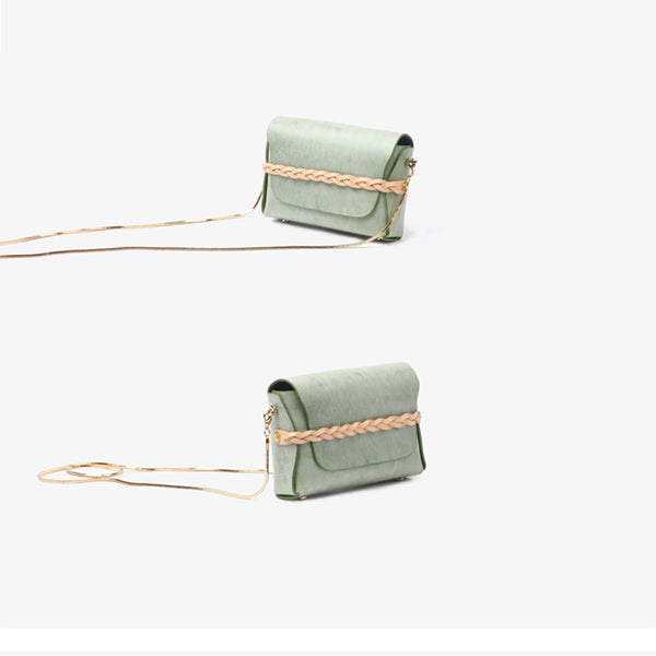 Small Womens Leather Crossbody Bags Chain Purse Shoulder Bags for Women Designer