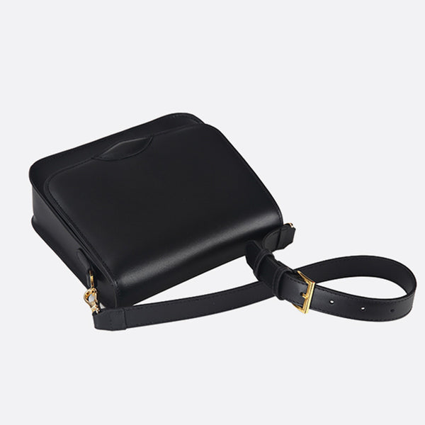 Stylish Ladies Black Leather Handbags Shoulder Bag Purses for Women Accessories