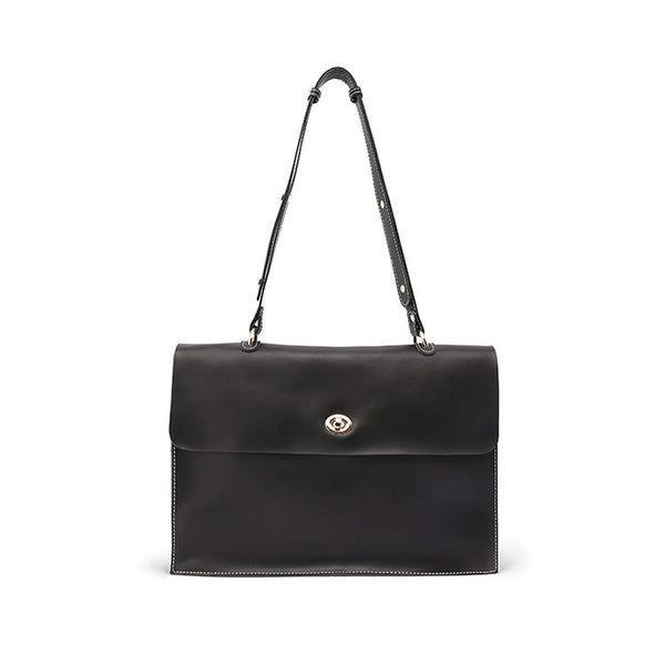 Stylish Ladies Leather Handbags shoulder bag black women